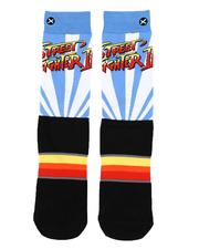 DRJ SOCK SHOP - Street Fighter 2 Logo Socks-2560274