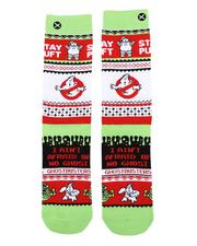 Socks - Ghostbusters Sweater Crew Socks-2560280