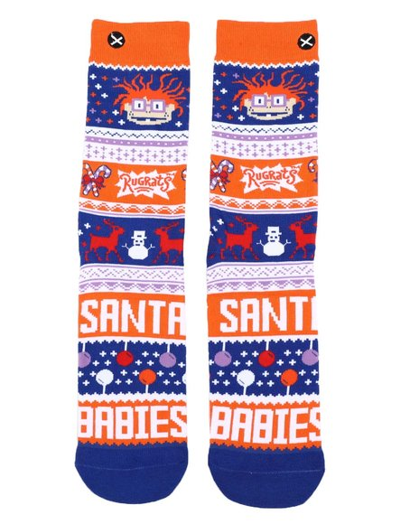 ODD SOX - Chuckie Sweater Crew Socks