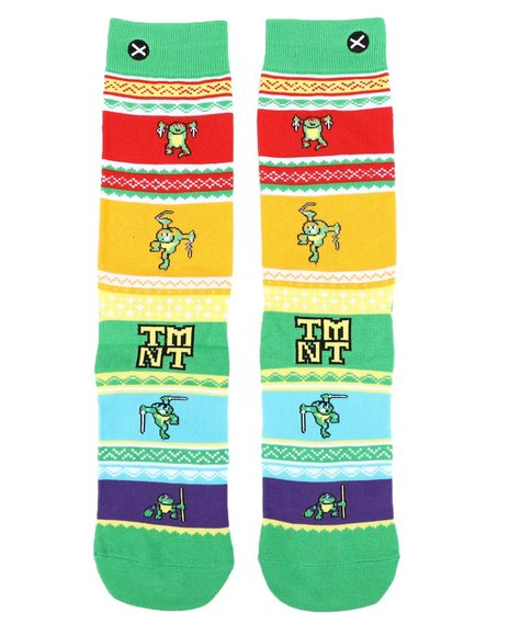 ODD SOX - TMNT Sweater Crew Socks