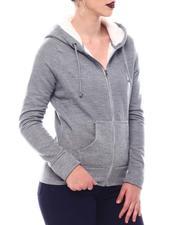 Fashion Lab - Sherpa Lined Hoodie-2566047
