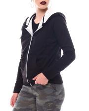 Fashion Lab - Sherpa Lined Hoodie-2566057