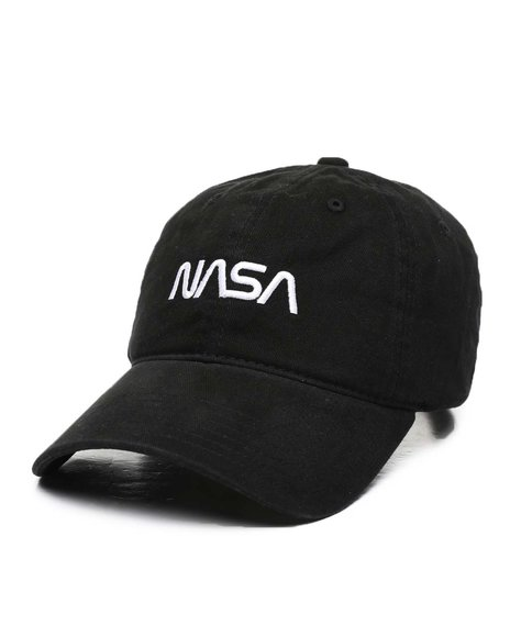 Buyers Picks - NASA Worm Logo Heavy Washed Dad Cap