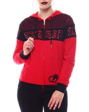 Ecko Red - Ecko Cropped Popover Hoody-2566380