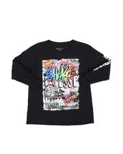 Tops - Savage Graffiti Long Sleeve T-Shirt (8-20)-2563103