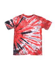 Tops - Rhinestone Rebel Logo Tie Dye Tee (8-18)-2563228