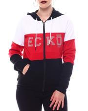Hoodies - Ecko Color Block Zip Up Hoody-2566319
