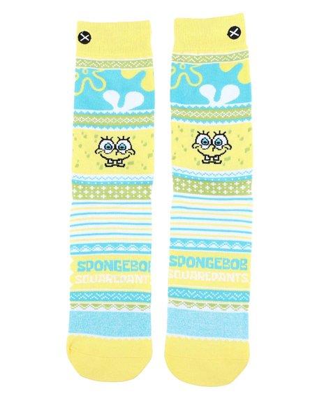 ODD SOX - SpongeBob Sweater Crew Socks