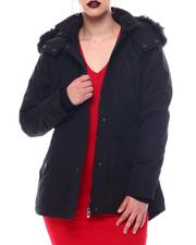 Fashion Lab - Hooded Coat W/Chest Pockets & Bottom Zipper & patch Pockets-2564704