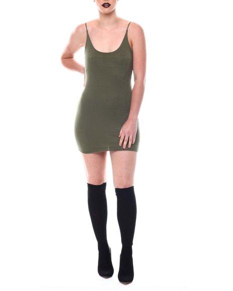 Fashion Lab - Scoop Neck Mini Dress