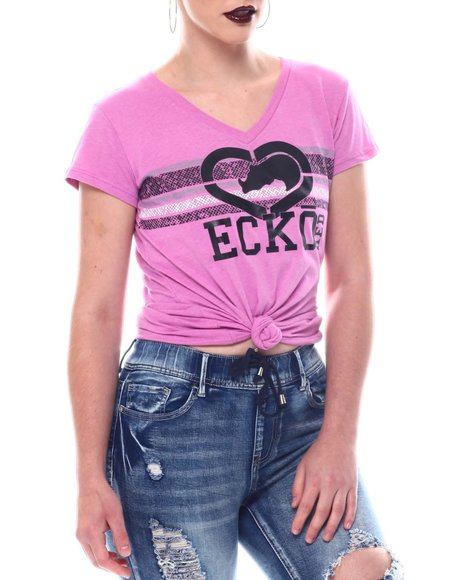 Ecko Red - Ecko V- NK Tee- Shirt