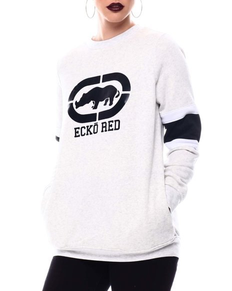 Ecko Red - Ecko Pop Over Oversize Sweater Shirt
