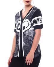 Ecko Red - Ecko Baseball Jersey W/Glitter Hear-2566410