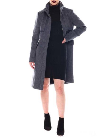 Karl Lagerfeld - Officer Placket Front Coat