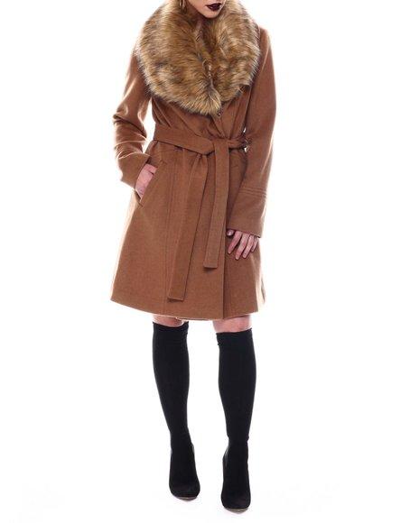 Karl Lagerfeld - Luxe Fur Shawl Wrap