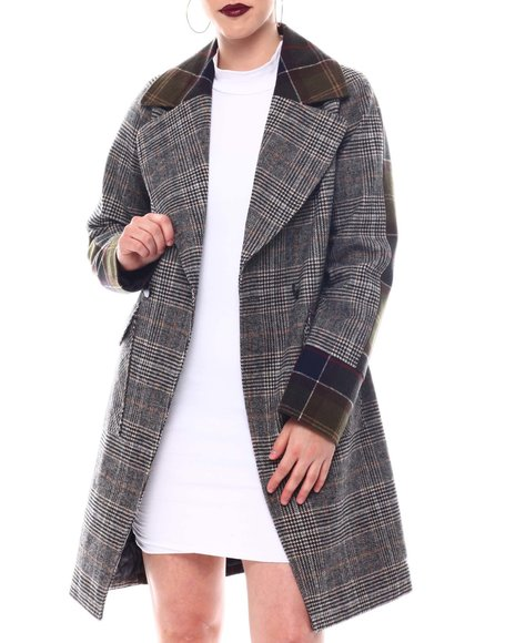Fashion Lab - Plaid Coat
