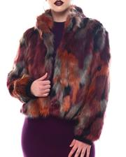 Fashion Lab - Faux Fur Jacket-2566458