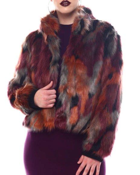 Fashion Lab - Faux Fur Jacket
