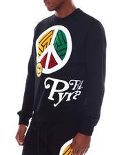 Black Pyramid - Peace Crewneck Sweatshirt-2567347