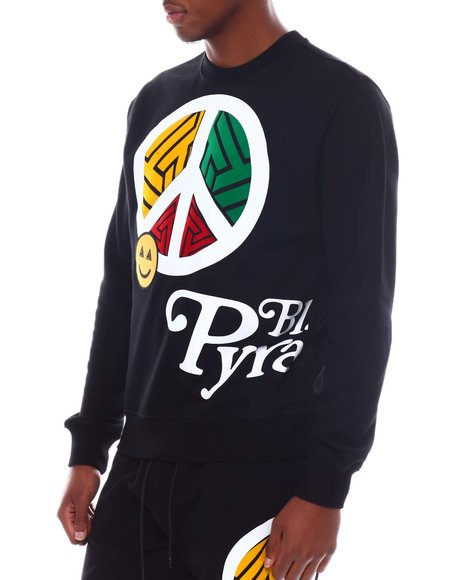 Black Pyramid - Peace Crewneck Sweatshirt
