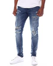Fall-Winter - 2 year Distressed ripped Jean-2565634