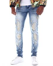 SWITCH - COLOR STITCHED DENIM PANTS W/SPLATTER Detail-2567107