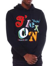 Hoodies - Flex on Reflective Hoodie-2566566