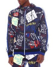 Light Jackets - Graffiti Hoody-2567187