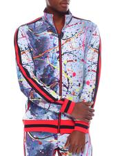 Track Jackets - Paint Splatter Track Jacket-2567197