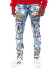 Jeans & Pants - Brush Stroke Moto Jean-2566751