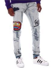 Jeans & Pants - Painted Crown Detail Jean-2566762
