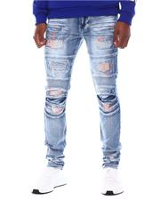 SWITCH - Pop of Color Distressed Moto Jean-2567011