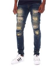 SWITCH - Pop of Color Distressed Moto Jean-2567029