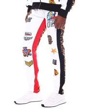 Jeans & Pants - Racing Patch and Leopard Jogger-2567152