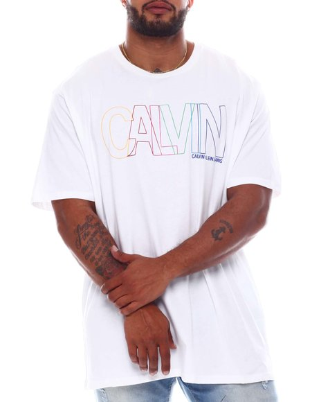 Calvin Klein - Mutlicolor Outline T-shirt (B&T)