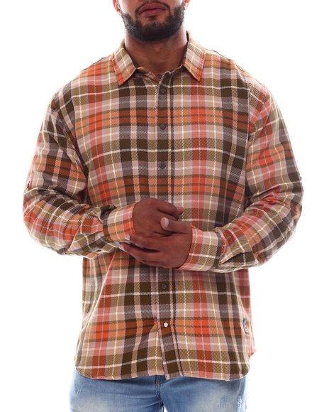 A Tiziano - Joel Plaid Button Up Shirt (B&T)