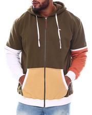 A Tiziano - Rusty Colorblock Zip Hoodie (B&T)-2565510