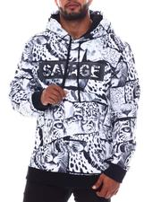 Buyers Picks - Savage Leopard Fleece Pullover (B&T)-2565460