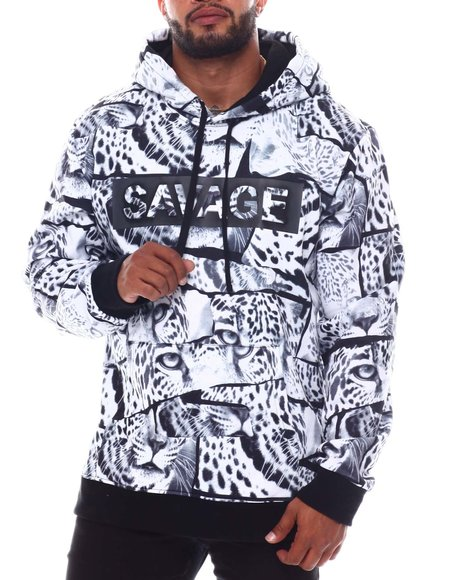 Buyers Picks - Savage Leopard Fleece Pullover (B&T)