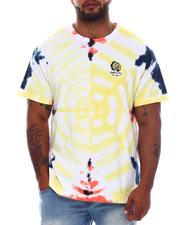 Hustle Gang - Color Bliss Tie Dye Knit Tee (B&T)-2565484