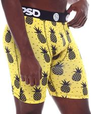 PSD UNDERWEAR - Yellow Pineapple Boxer Brief-2567480