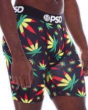 PSD UNDERWEAR - Weed Rasta OG Boxer Brief-2567571
