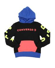 Hoodies - All Star Color Block Hoodie (8-20)-2562985