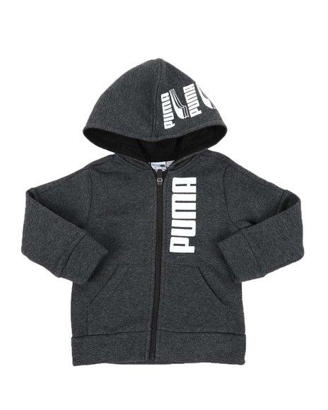 Puma - Rebel Bold Pack Fleece Zip Up Hoodie (2T-4T)