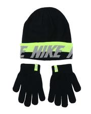 Accessories - Youth Word Mark Beanie & Gloves Set-2561936