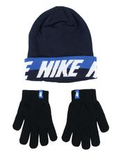 Accessories - Youth Word Mark Beanie & Gloves Set-2561937