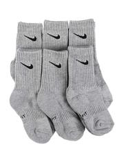 Accessories - 6 Pack Performance Crew Socks (13C-3Y)-2561971