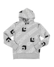 Hoodies - Wordmark All Over Print Hoodie (8-20)-2562582
