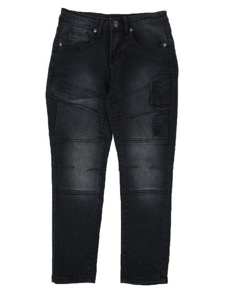 Arcade Styles - Cut & Sew Stretch Jeans (8-18)