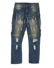 Bottoms - Rip & Repair Stretch Jeans (8-18)-2565166